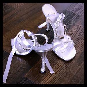 Stuart Weizmann evening wear sandals 5 1/2-6